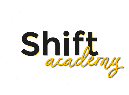 [Logo] Shift Academy with Circle