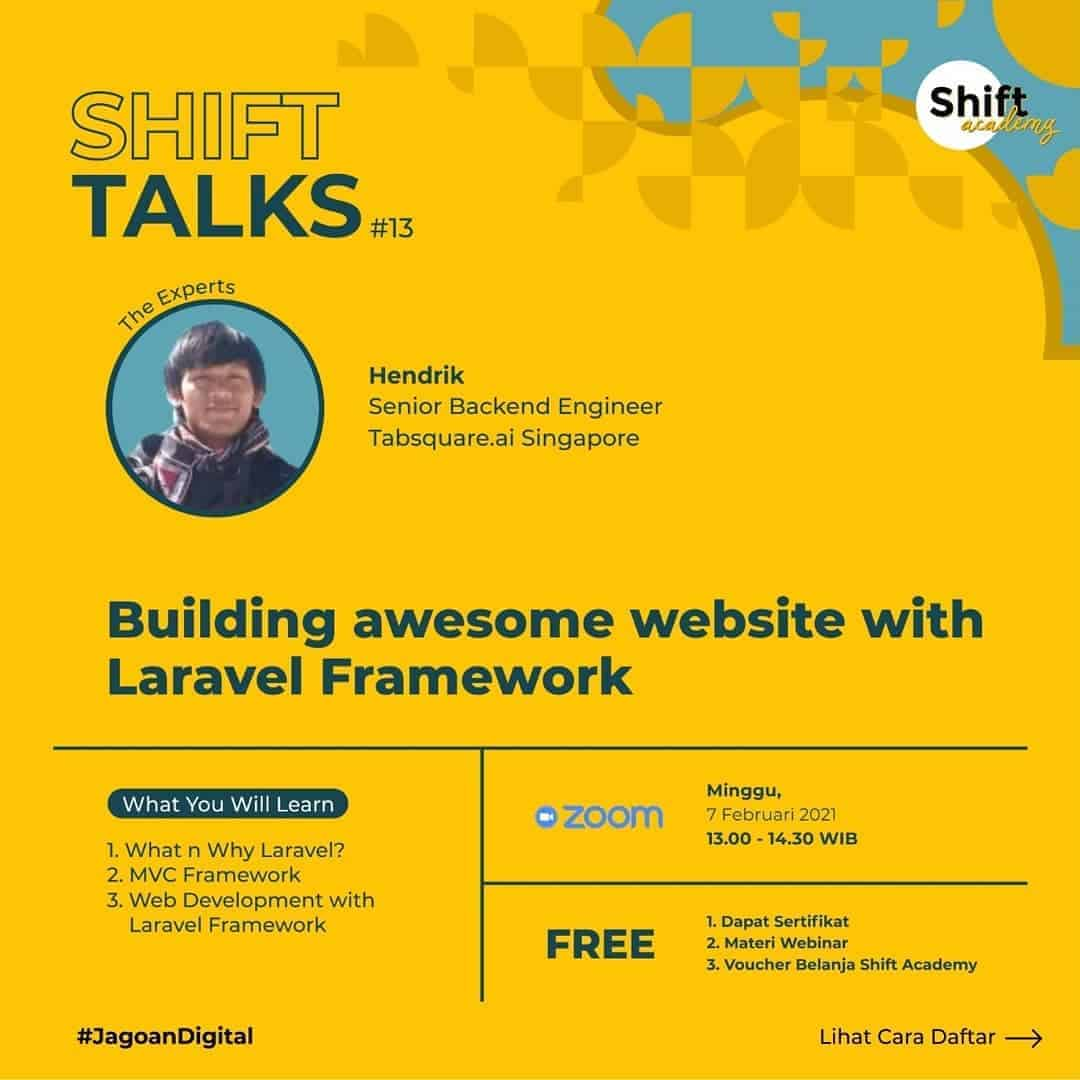 Flyer - Building Awesome Website with Laravel Framework